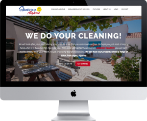 Website BnBHelp-algarve, WordPress